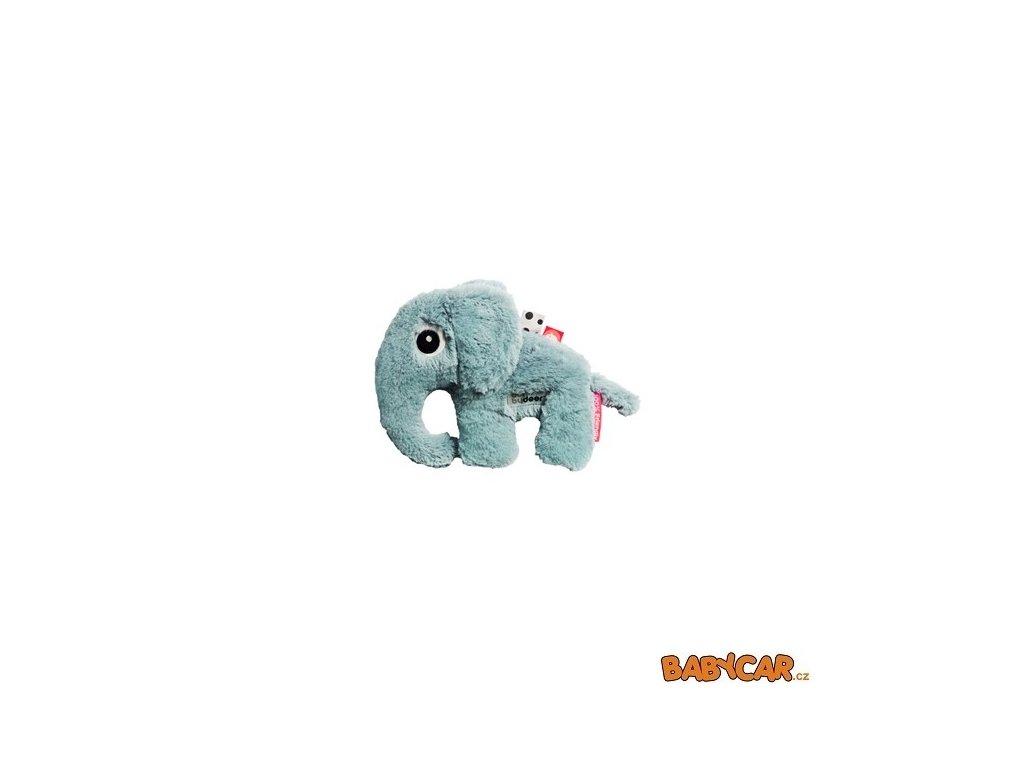 DONE BY DEER mazlivá hračka malá ELPHEE Modrá