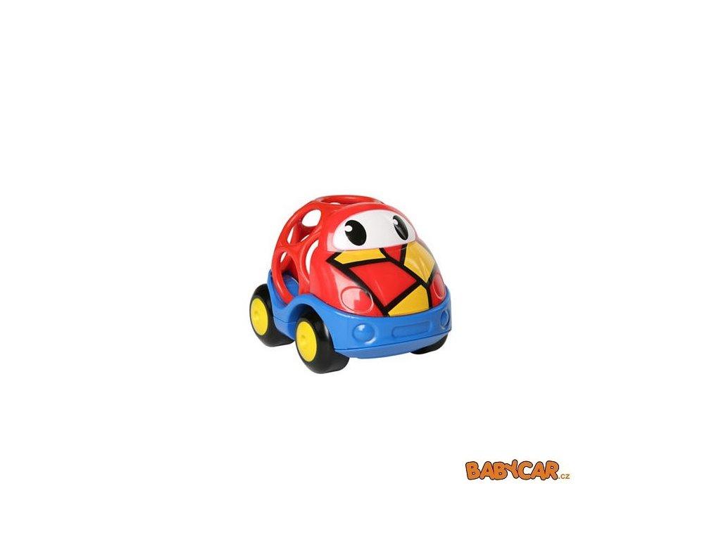 OBALL autíčko GO GRIPPERS CUSTOM RIDES 1ks Červená/Modrá