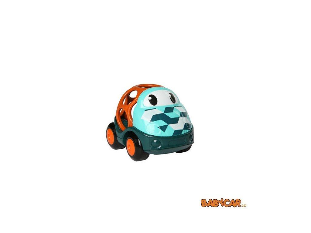 OBALL autíčko GO GRIPPERS CUSTOM RIDES 1ks Zelená/Oranžová