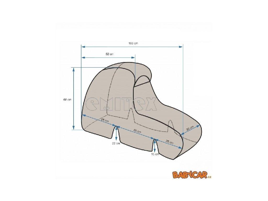 EMITEX pláštěnka BIG FOOT