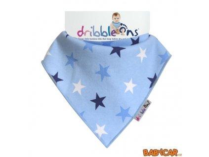 DribbleOnsSlintacekSatekDesignerBlueStars