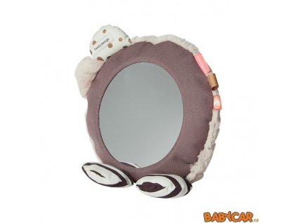 DONE BY DEER zrcadlo na podlahu Růžová