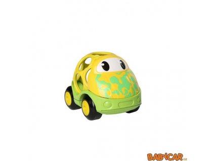 OBALL autíčko GO GRIPPERS CUSTOM RIDES 1ks Žlutá/Zelená