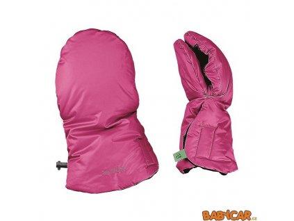 ODENWÄLDER rukavice na kočárek MUFFOLO Pink DOPRODEJ!