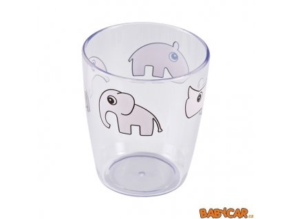 DONE BY DEER mini sklenička YUMMY 120ml Růžová