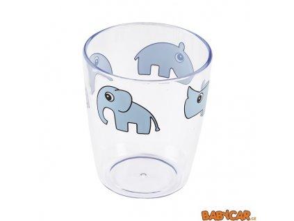 DONE BY DEER mini sklenička YUMMY 120ml Modrá