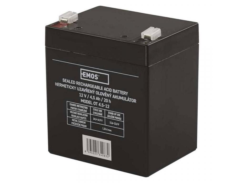 Akumulátor olovený 12V 4,5Ah bezúdržbový