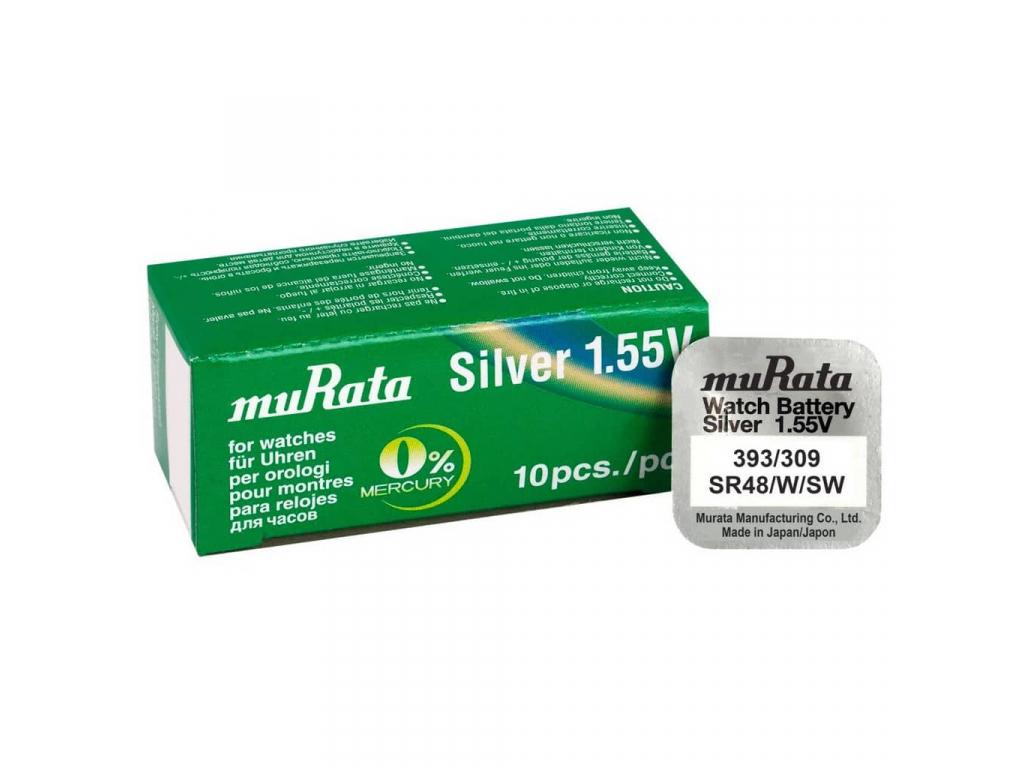 Batéria Rayovac 393, SR754SW, SR48