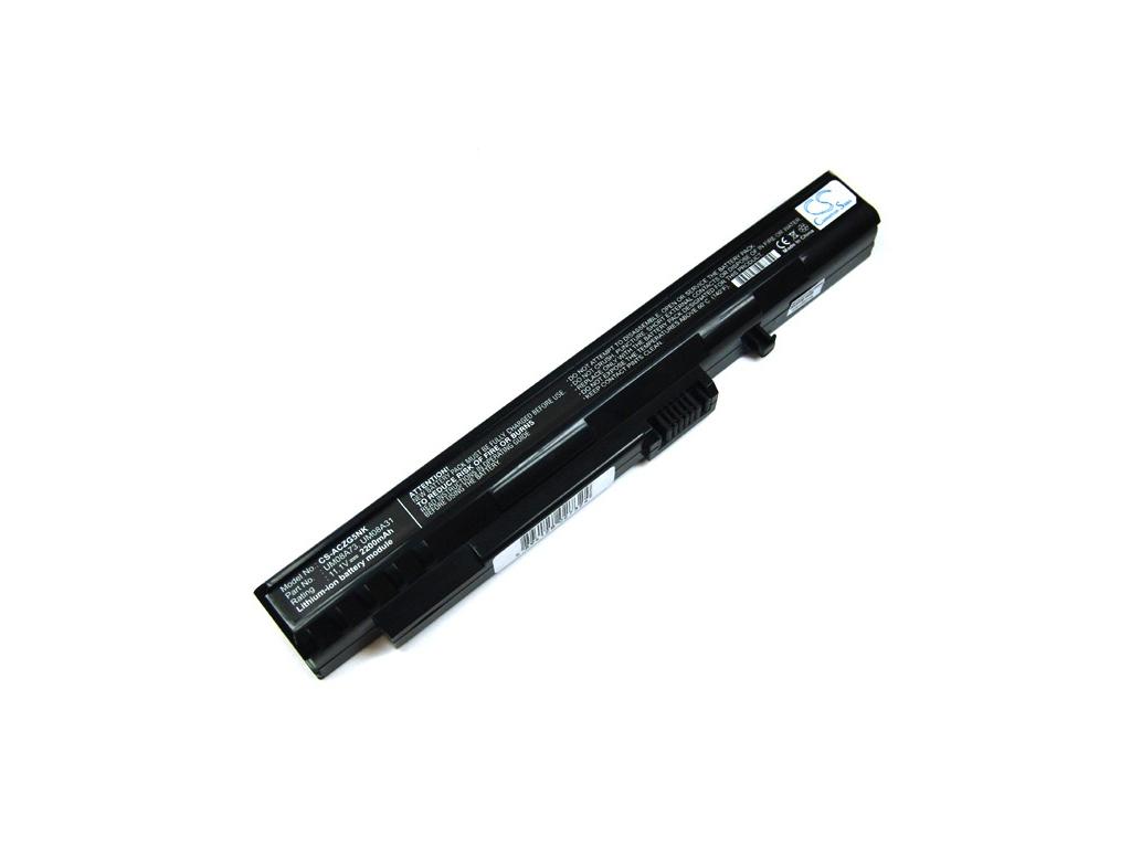 Batéria kompatibilná s Acer ZG5/Aspire One séria 2200 mAh Li-Ion čierna