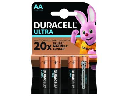 Baterie Duracell Ultra AA 4 ks