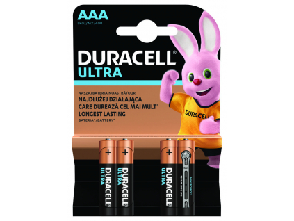 Baterie Duracell Ultra AAA 4 ks