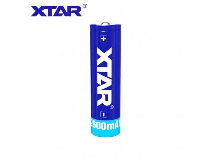 Akumulátor Xtar 18650 Li-ion 3,7V 2600mAh s ochranným obvodom