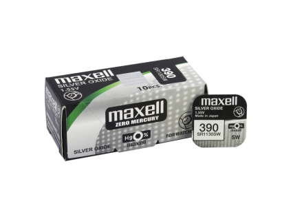 Batéria gombíková mini Maxell 390, 389, SR 1130 SW, G10