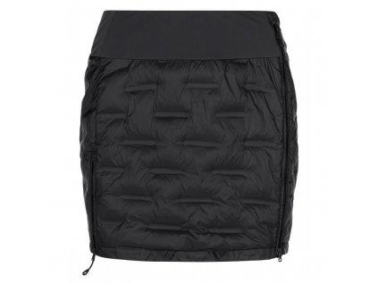 KILPI TANY-W dámská zateplená péřová sukně černá