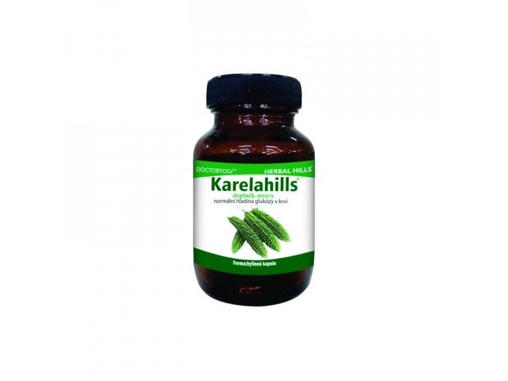 Karelahills, 60 kapslí, hladina glukózy