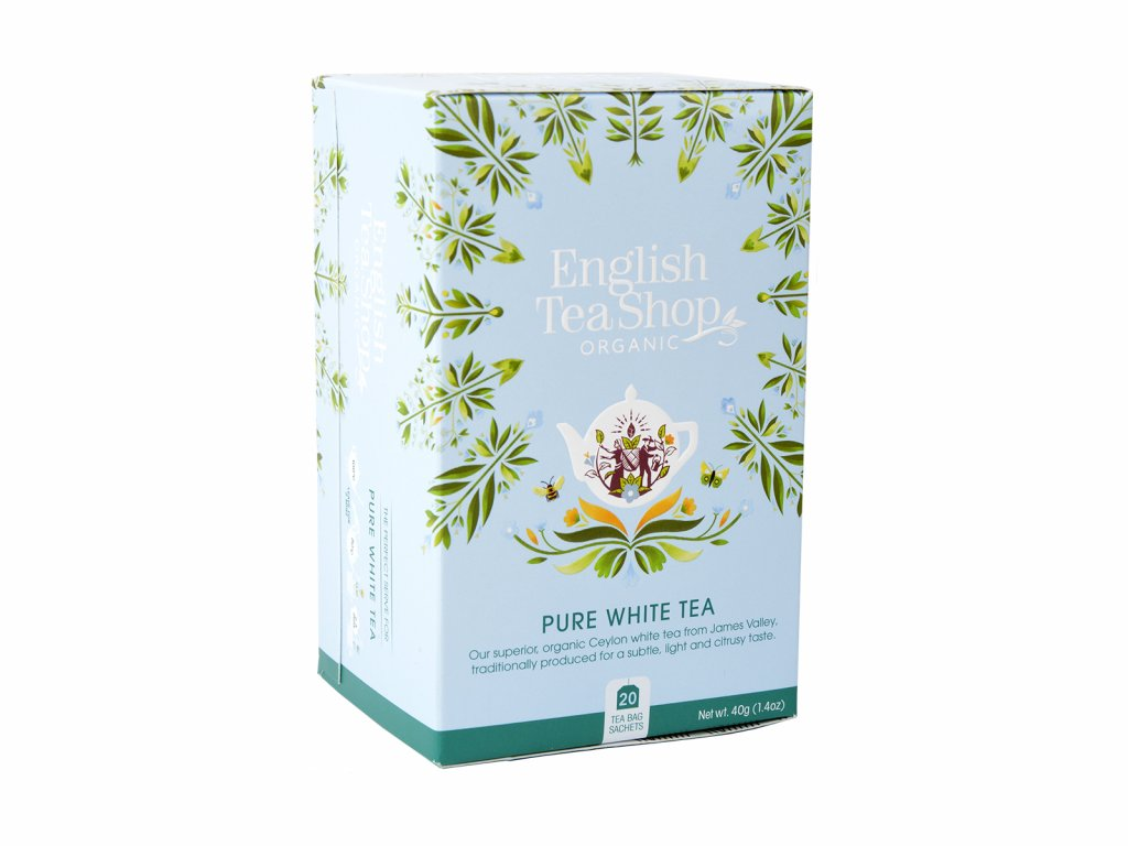 ETS Bílý čaj, 20 sáčků