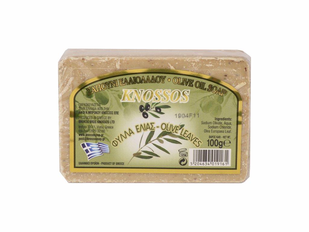 Knossos olivové listy