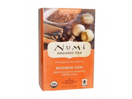 Numi Organic Tea Rooibos Chai bylinny caj s korenim bio 18 sacku sku960