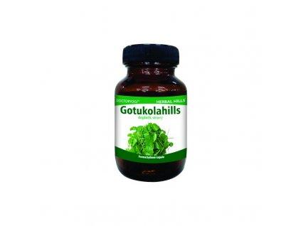 Gotukolahills, 60 kapslí, vitalita, paměť, CNS