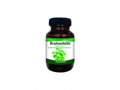 Brahmihills, 60 kapslí, nervové tonikum, paměť