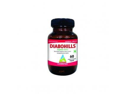 Diabohills, 60 kapslí, metabolismus cukrů