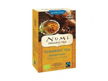 Numi čaj bio kurkumový Golden Tonik s verbenou a limetkou,  12 sáčků