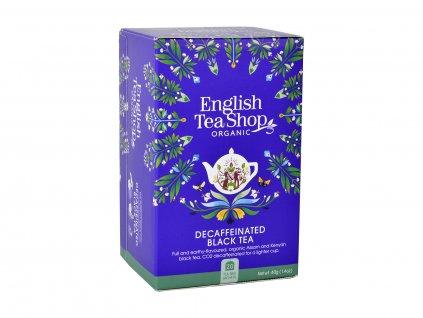 ETS Decaf černý čaj, 20 sáčků