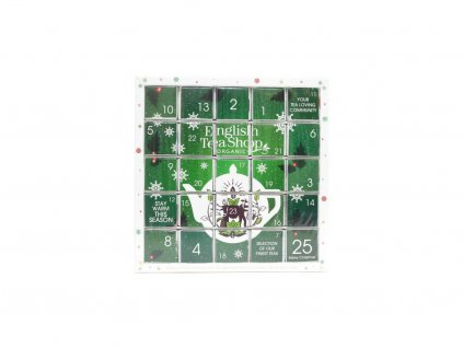 1372 english tea shop zeleny adventni kalendar puzzle 48 g 25 ks bio ets25