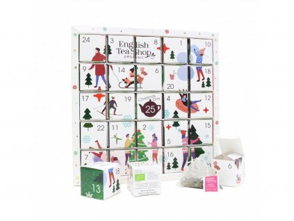 1336 3 english tea shop bily adventni kalendar puzzle 48 g 25 ks bio ets25
