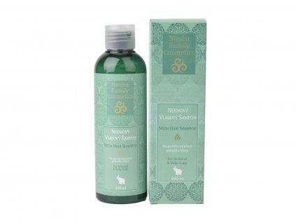 Neemový vlasový šampon, 200ml