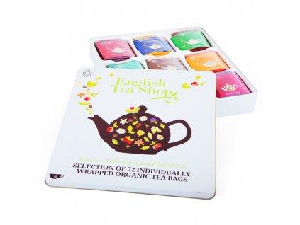 english tea shop darkova plechova kazeta luxusni caje 72 sacku9 prichuti