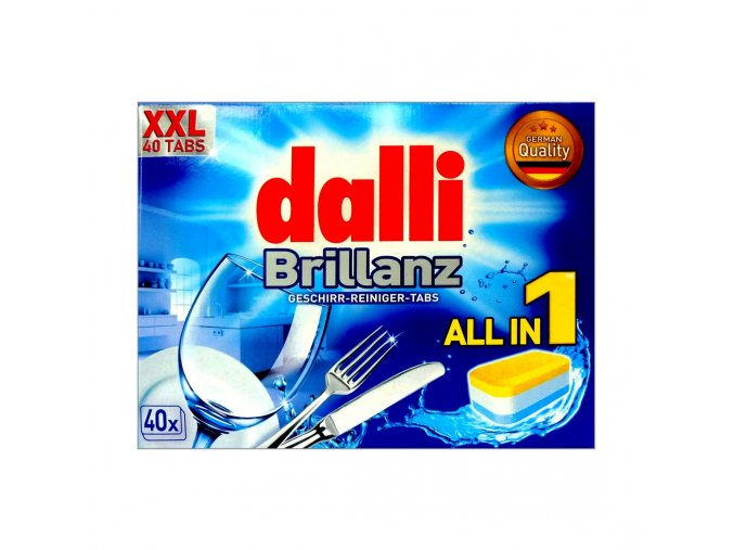 dalli brillanz all in 1 tablety do mycky 40ks