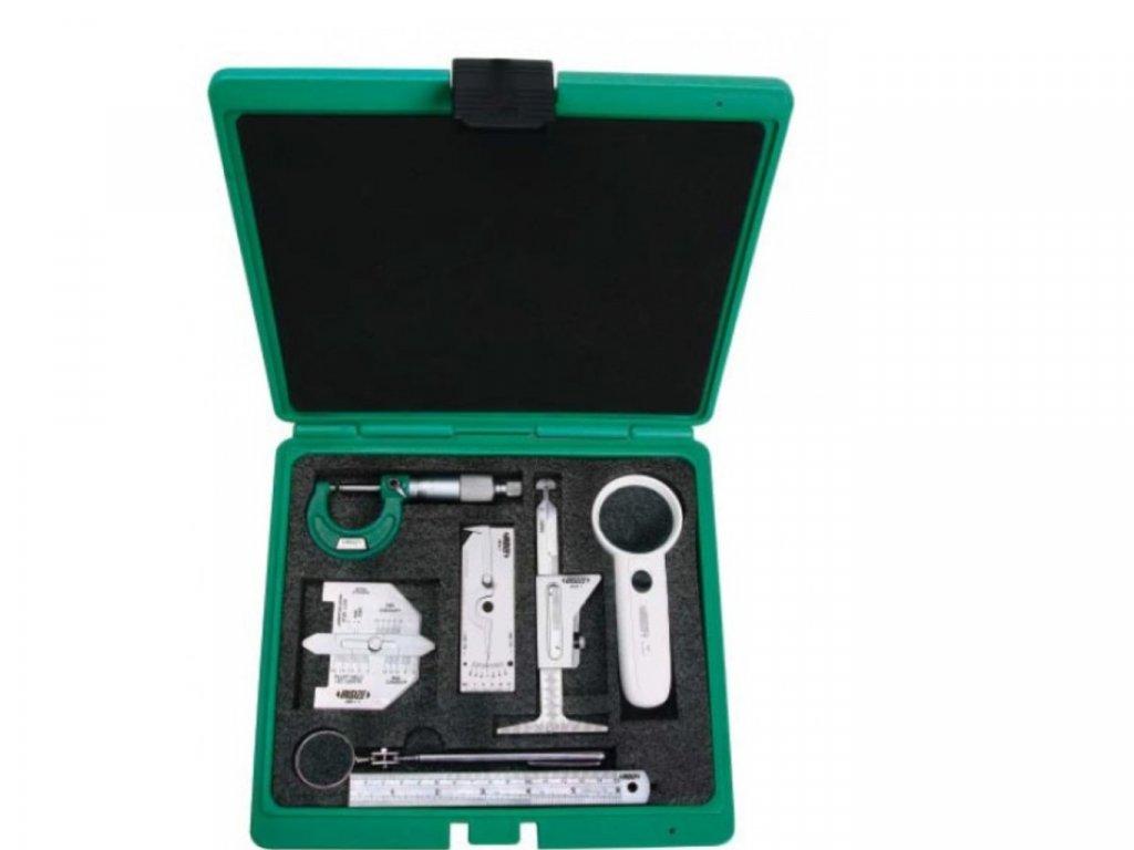 Insize-5071-7-részes-hegesztési-varratmérő-ellenőrző-készlet