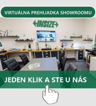 Virtuálna prehliadka INSIZE Showroom