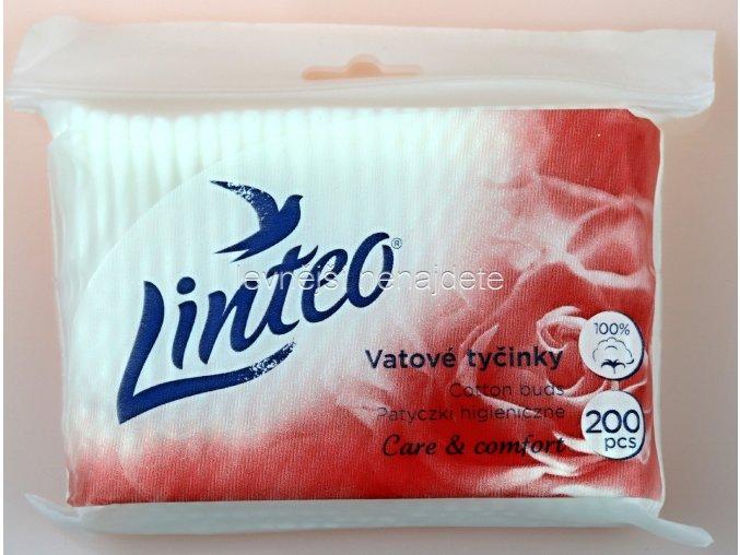 vatové tyčinky LINTEO v sáčku 200 ks