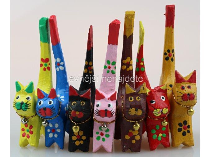 Dřevěné kočičky