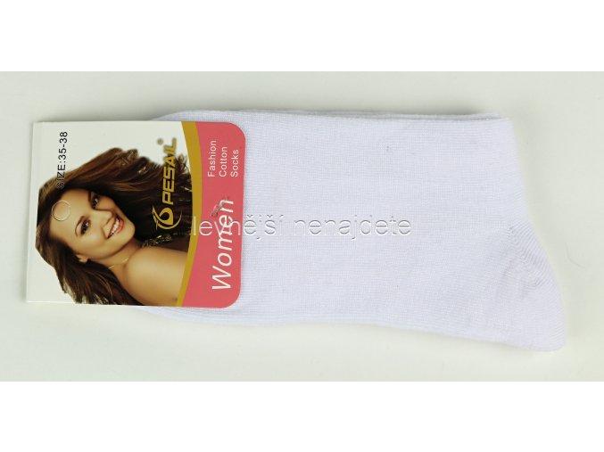 Dámské ponožky bílé