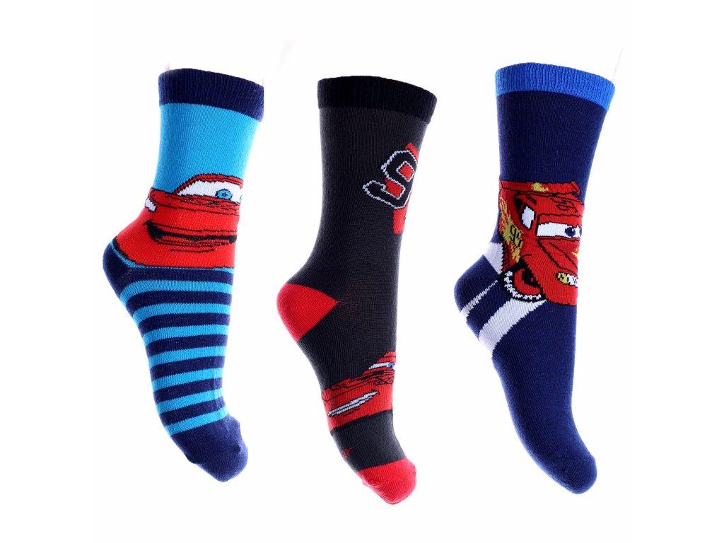 Chlapecké ponožky - SETINO Auta ST- 881-067 , vel. 23-34