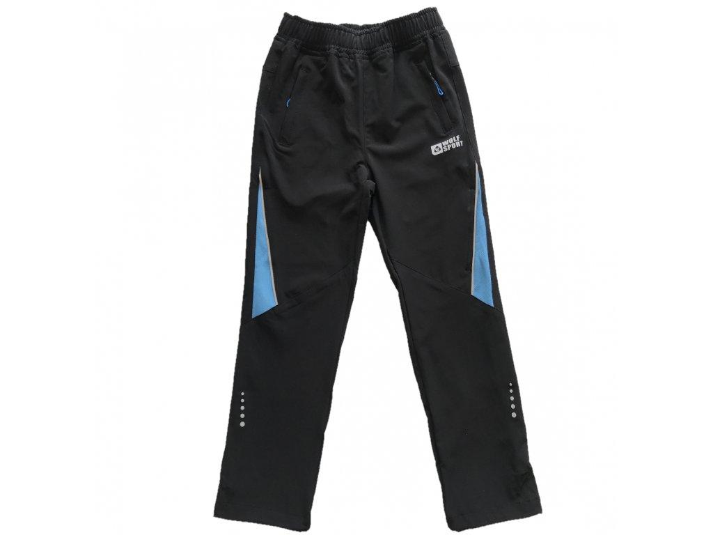 Chlapecké softshellové kalhoty - Wolf B2086, černá